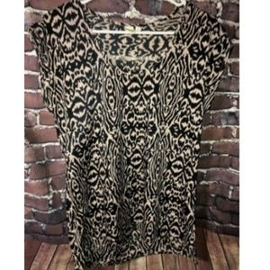 14th & Union Blouse Size Small Scoop Neck